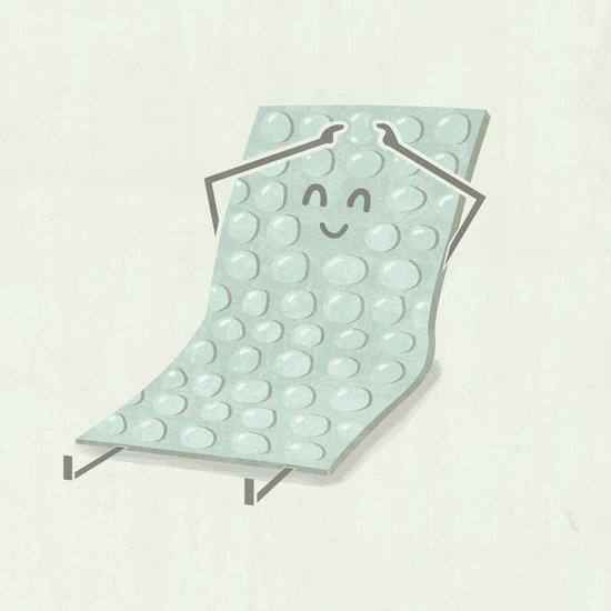 Popping Bubbles Art Print