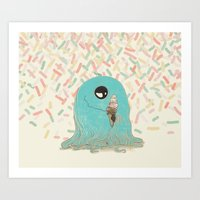 Sprinkles On Top Art Print