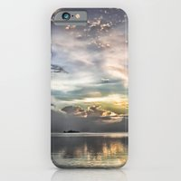 iPhone Cases featuring Heaven's Light by CreativeByDesign