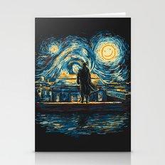 Starry Fall (Sherlock) Stationery Cards