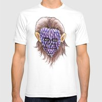 Grape Ape Mens Fitted Tee White SMALL