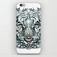 The White Tiger (Classic… iPhone & iPod Skin