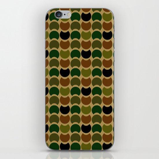 HobNob Camo Multi iPhone & iPod Skin