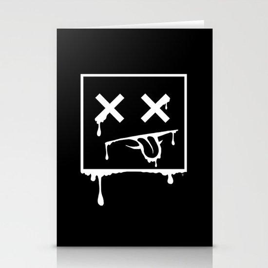 Dead Pixel Negative Stationery Card