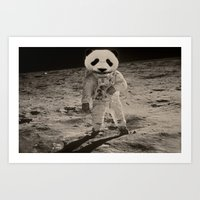 One Small Step For Man, … Art Print