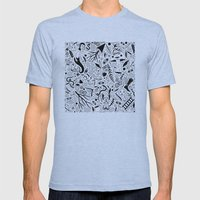 Curious Collection No. 9 Mens Fitted Tee Athletic Blue SMALL
