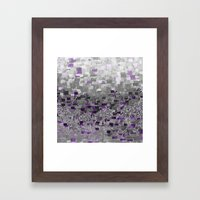 :: Purple-Rain Compote :: Framed Art Print