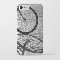 bicycle iPhone & iPod Cases featuring bicycle by habish