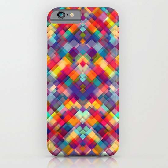Squares Everywhere iPhone & iPod Case