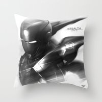 Mark 7 Stealth Throw Pillow