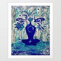 Showers Of Blessings Art Print