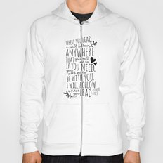 Gilmore Girls Where You Lead theme song  Hoody