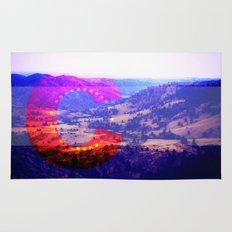 Colorado Flag--Valley Rug