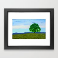 Framed Art Print featuring Heavens Above! by DigitalAndPhoto