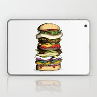 Now THIS is a burger. Laptop & iPad Skin