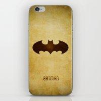 Bat Man iPhone & iPod Skin