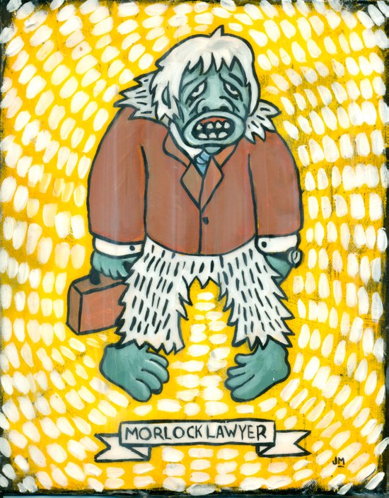 """Morlock Lawyer"" Art Print"