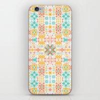 Las Flores iPhone & iPod Skin