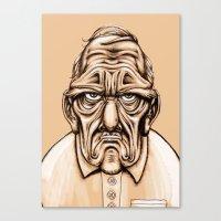 Grouchy Canvas Print