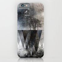 iPhone Cases featuring TREES over MAGIC MOUNTAINS I by Pia Schneider [atelier COLOUR-VISION]