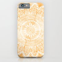TANGERINE BOHO FLOWER MA… iPhone 6 Slim Case