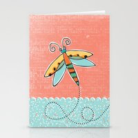 Summer Buzzin' Stationery Cards