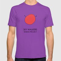 SKY WALKERS By ISHISHA P… Mens Fitted Tee Ultraviolet SMALL