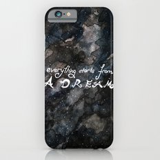 everything starts from a dream Slim Case iPhone 6s