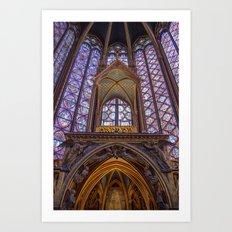 Sainte Chapelle - Paris Art Print