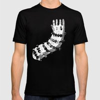 Bracelets Mens Fitted Tee Black SMALL