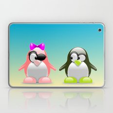 two little penguins Laptop & iPad Skin