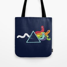 Dark side of the Worm Tote Bag
