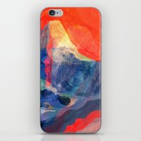 Abstract Mt. Everest iPhone & iPod Skin