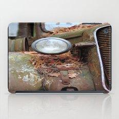 Vintage headlight iPad Case