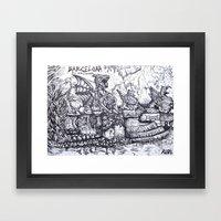 Parc de la Ciutadella Framed Art Print