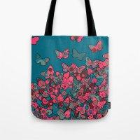 Flutterflies Tote Bag