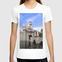 Sleeping Beauty's Holida… Womens Fitted Tee White SMALL