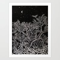 The Night Art Print