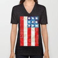 America Unisex V-Neck