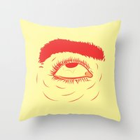 The Terror II Throw Pillow