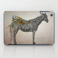Feather Horse  iPad Case