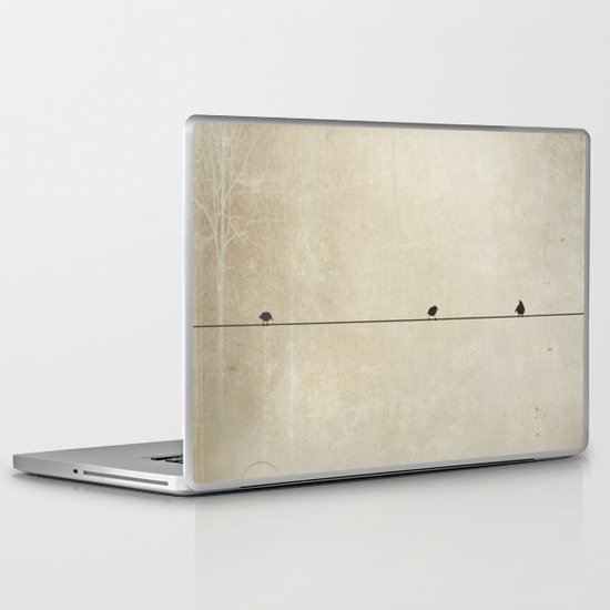 Songbird Trio Laptop & iPad Skin