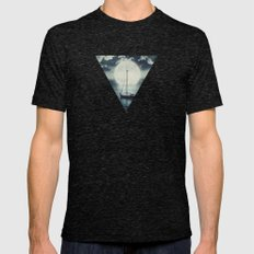 A Journey Under A Starry… Mens Fitted Tee Tri-Black SMALL