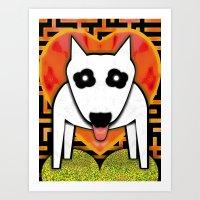 LOVE SHUI Art Print
