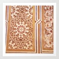 Moroccan Design Art Print