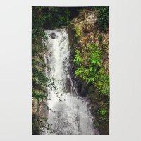 Rainforest Waterfall Rug