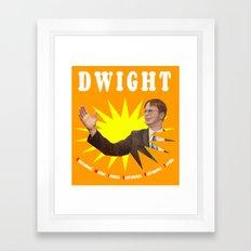 Dwight Schrute     The Office Framed Art Print