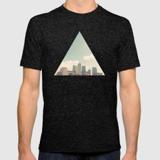 London Skyline Mens Fitted Tee Tri-Black SMALL