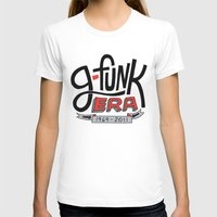 G-Funk Era Womens Fitted Tee White SMALL