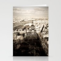 Shadow Over Paris Stationery Cards